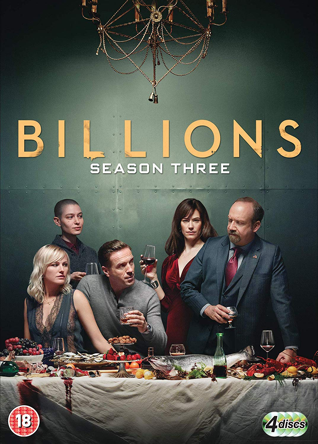 Billions: Season 3 [DVD]