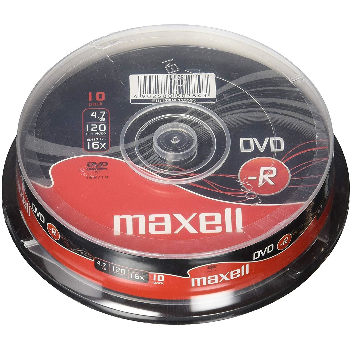 DVD Minus R 10pc Spindle 16X [Accessories]