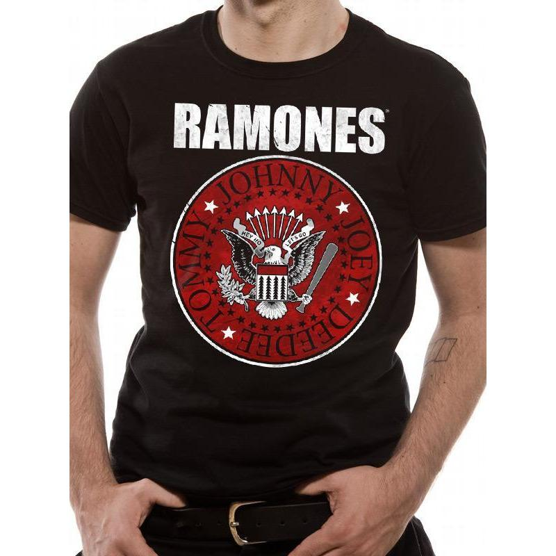 Ramones Red Fill Seal [T-Shirts]