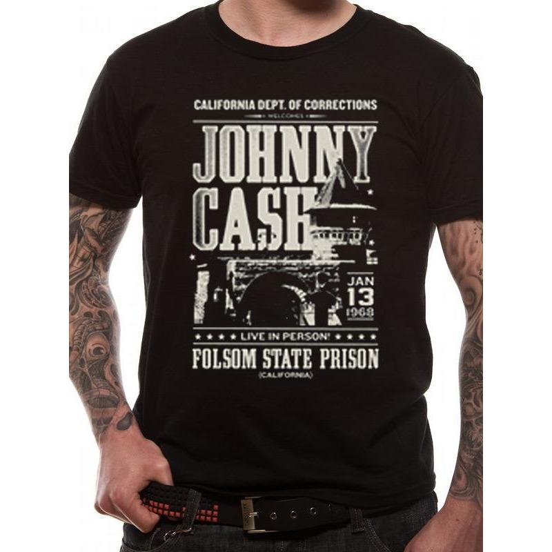 Johnny Cash Dept Of Correction [T-Shirts]