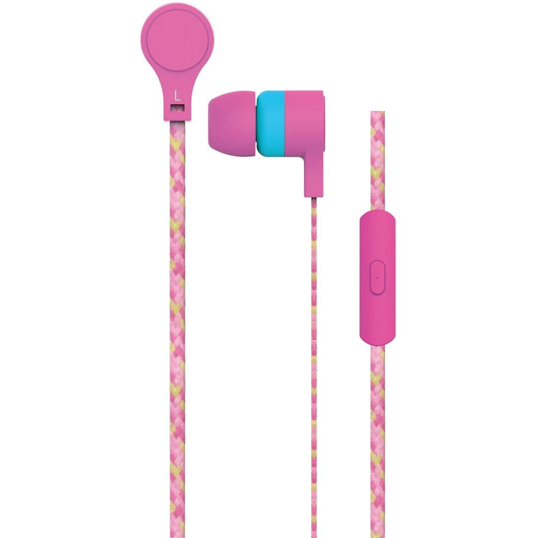Maxell Cordz Earphones Pink [Accessories]