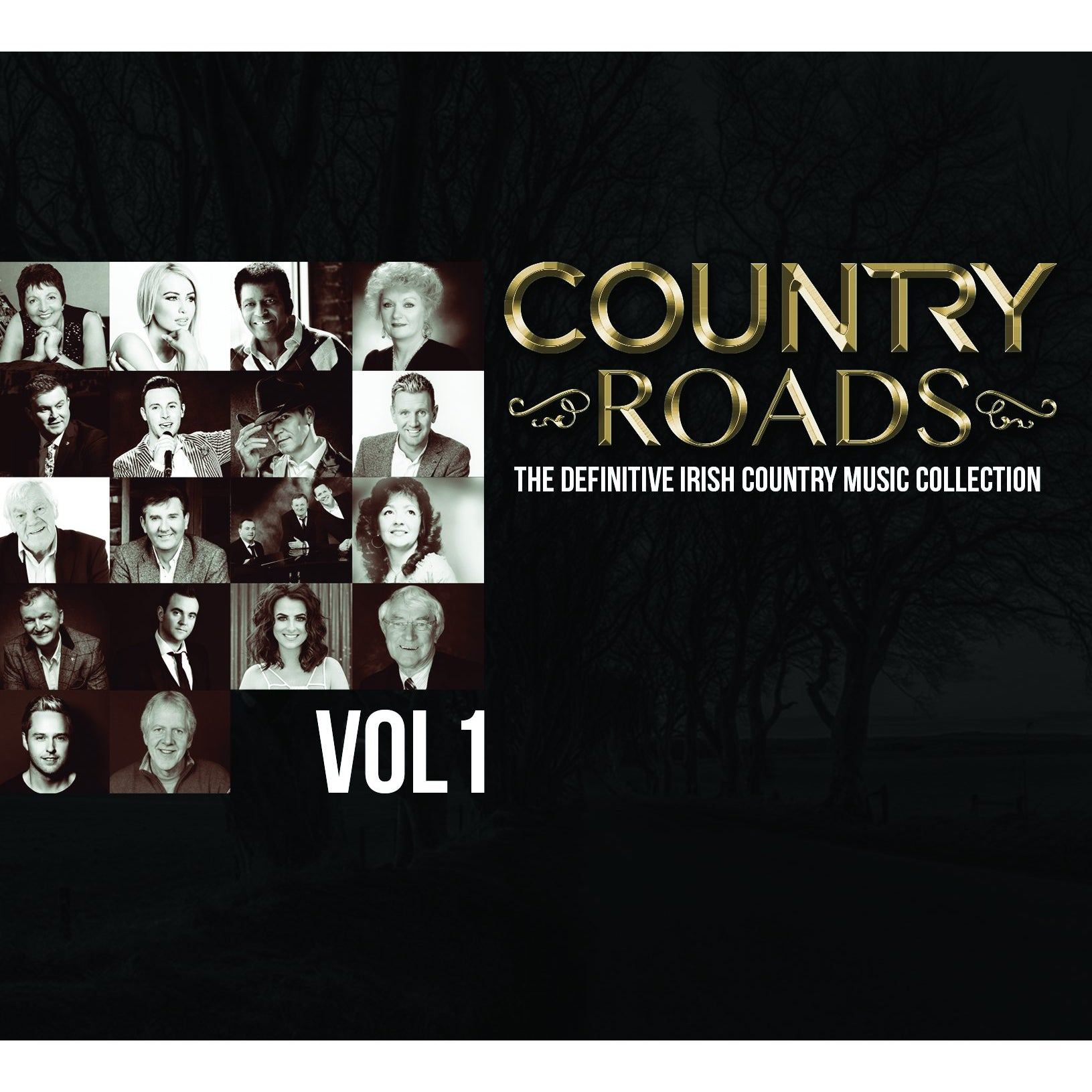 Country Roads: The Definitive Irish Country Music Collection- Volume 1 - Various Artists [CD]