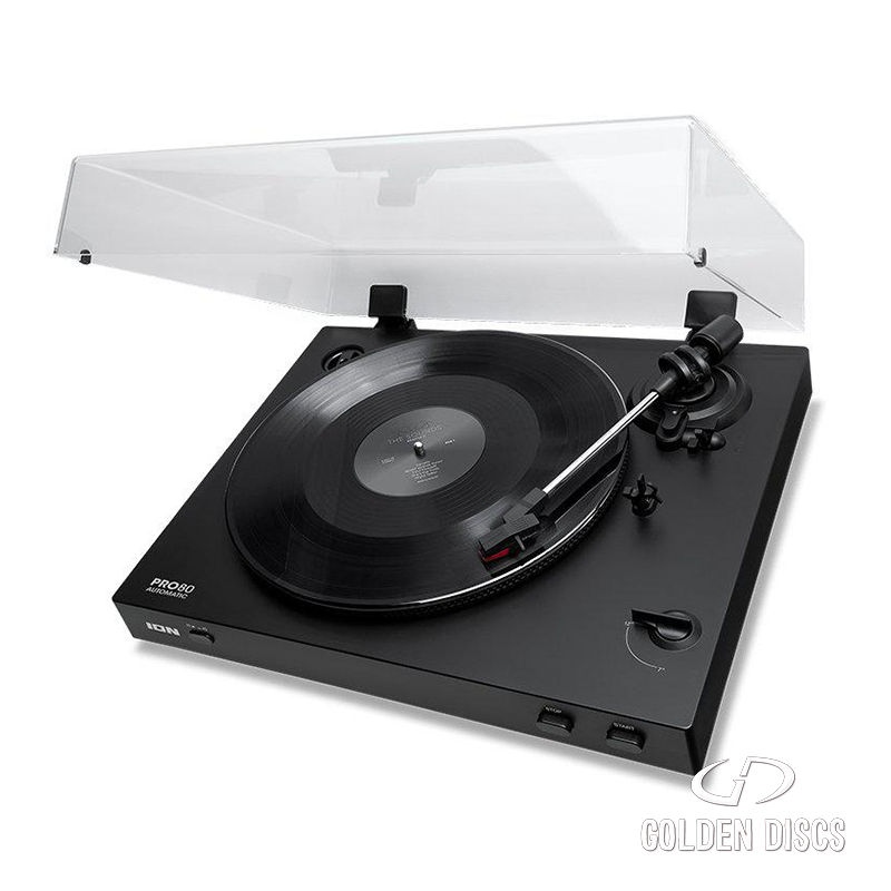 ION PRO80 BELT DRIVEN TURNTABLE [Tech & Turntables]