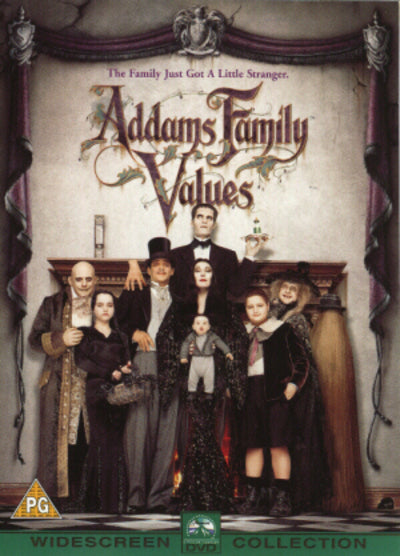 Addams Family Values - Barry Sonnenfeld [DVD]
