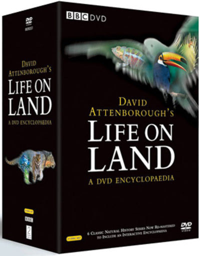 David Attenborough's Life On Land - A DVD Encyclopaedia - David Attenborough [DVD]