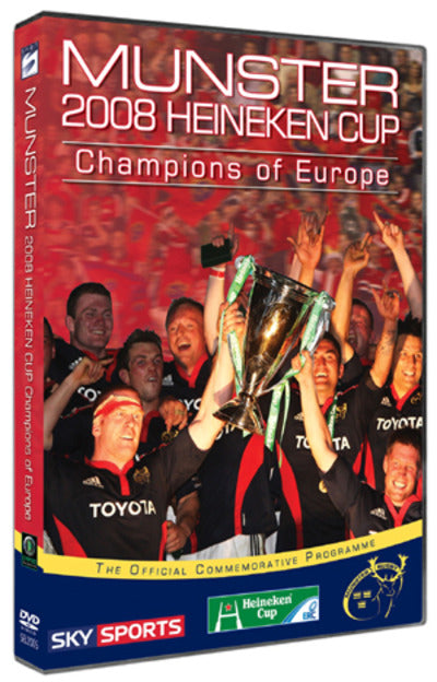 Munster Rugby: Champions of Europe 2008 - Munster Rugby [DVD]