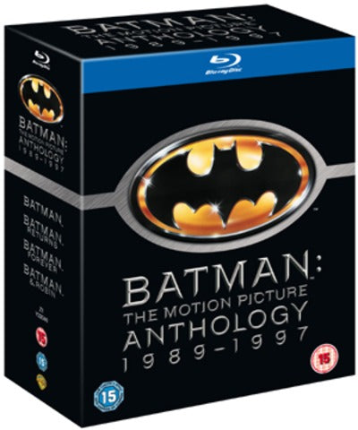 Batman: The Motion Picture Anthology - Tim Burton [BLU-RAY]