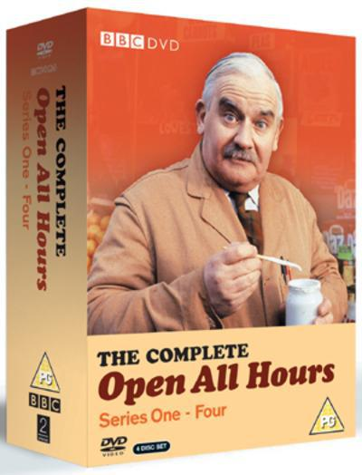 Open All Hours: The Complete Series 1-4 - Roy Clarke [DVD]
