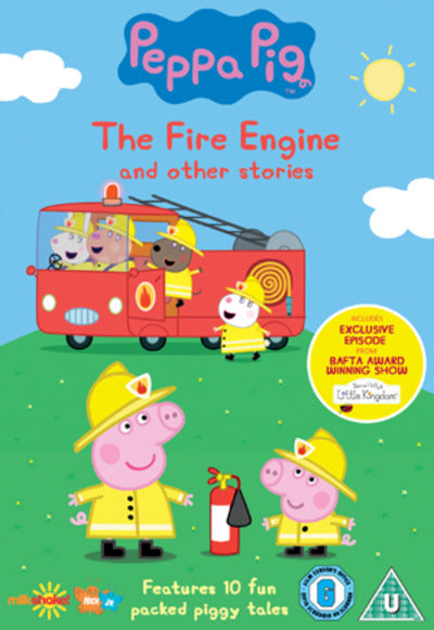 Peppa Pig: The Fire Engine and Other Stories - Phil Davies [DVD]