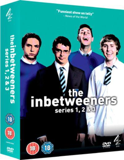 The Inbetweeners: Series 1-3 - Damon Beesley [DVD]