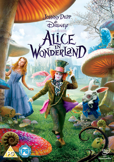 Alice in Wonderland - Tim Burton [DVD]