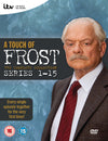 A Touch of Frost: The Complete Series 1-15 - Philip Burley [DVD]