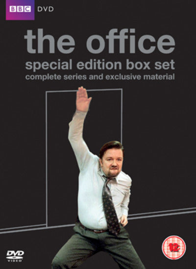 The Office: Complete Series 1 and 2 and the Christmas Specials - Ricky Gervais [DVD]