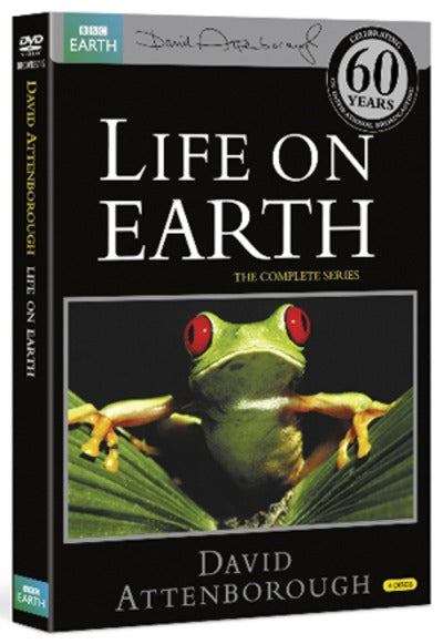 David Attenborough: Life On Earth - The Complete Series - David Attenborough [DVD]