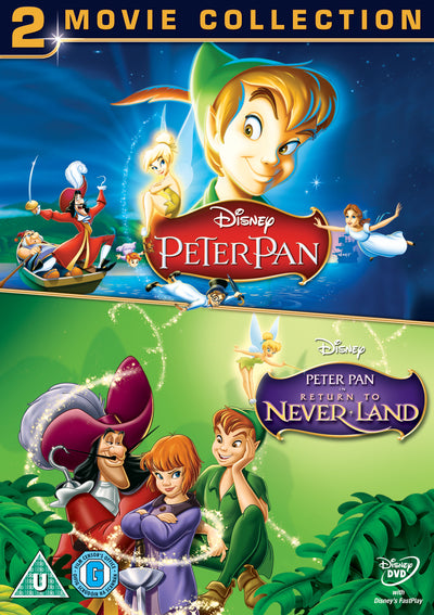 Peter Pan/Peter Pan: Return to Never Land (Disney) - Hamilton Luske [DVD]