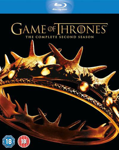 Game of Thrones: The Complete Second Season - David Benioff [BLU-RAY]