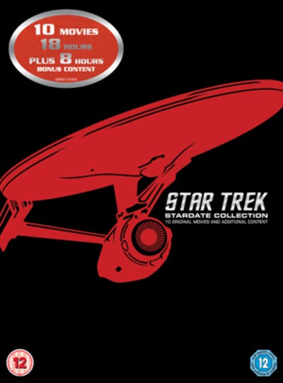 Star Trek: The Movies 1-10 - Stuart Baird [DVD]