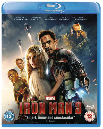 Iron Man 3 - Shane Black [BLU-RAY]