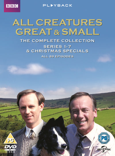 All Creatures Great and Small: Complete Series - Terence Dudley [DVD]