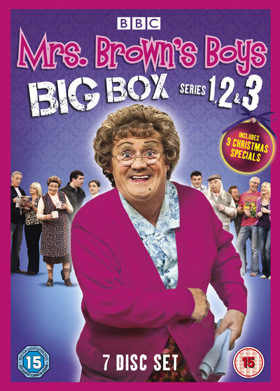 Mrs Brown's Boys: Series 1-3 - Brendan O'Carroll [DVD]