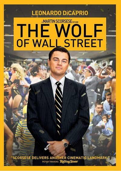 The Wolf of Wall Street - Martin Scorsese [DVD]