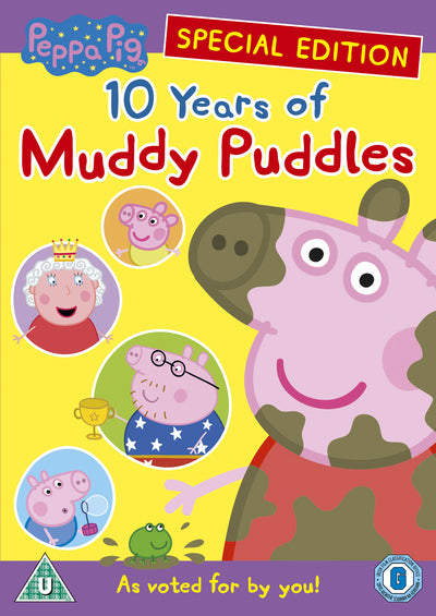 Peppa Pig: 10 Years of Muddy Puddles - Morwenna Banks [DVD]