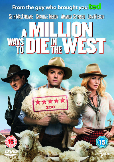 A Million Ways to Die in the West - Seth MacFarlane [DVD]