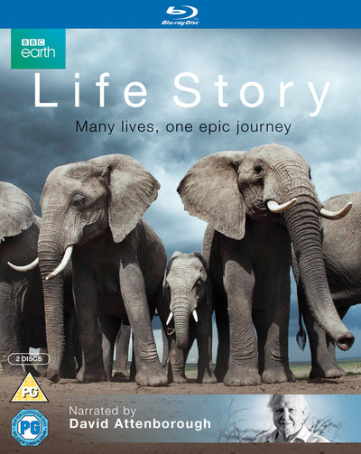 David Attenborough: Life Story - David Attenborough [BLU-RAY]