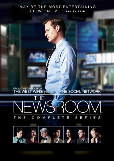 The Newsroom: The Complete Series - Alan Poul [DVD]