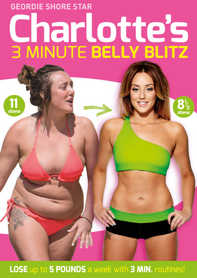 Charlotte Crosby's 3 Minute Belly Blitz - Charlotte Crosby [DVD]