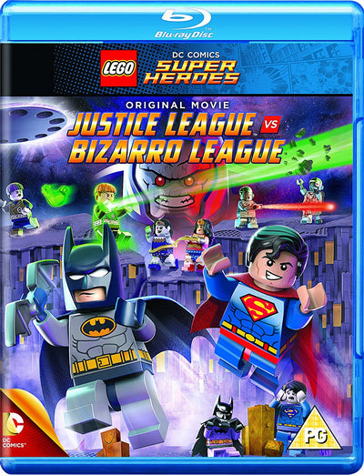 LEGO: Justice League Vs Bizarro League - Brandon Vietti [BLU-RAY]