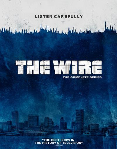 The Wire: The Complete Series - David Simon [BLU-RAY]