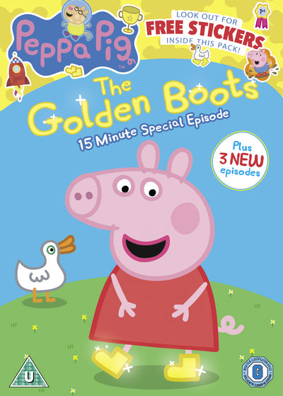 Peppa Pig: The Golden Boots - Neville Astley [DVD]