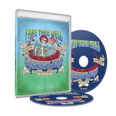 Grateful Dead: Fare Thee Well Live Concert - Grateful Dead [DVD]
