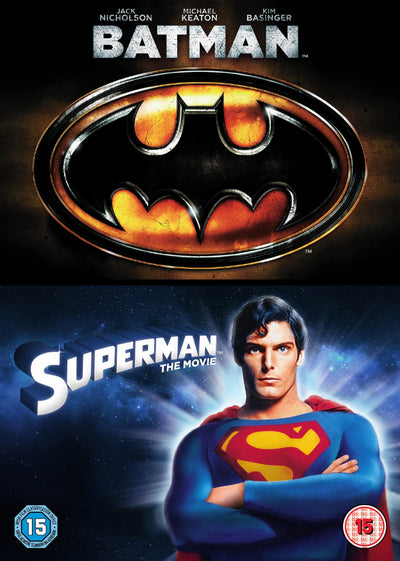 Batman/Superman: The Movie - Tim Burton [DVD]