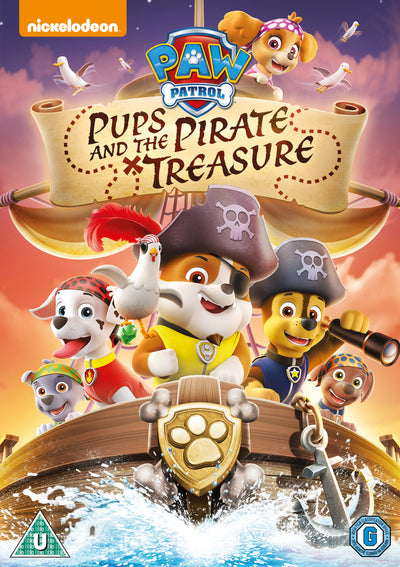 Paw Patrol: Pups and the Pirate Treasure - Keith Chapman [DVD]