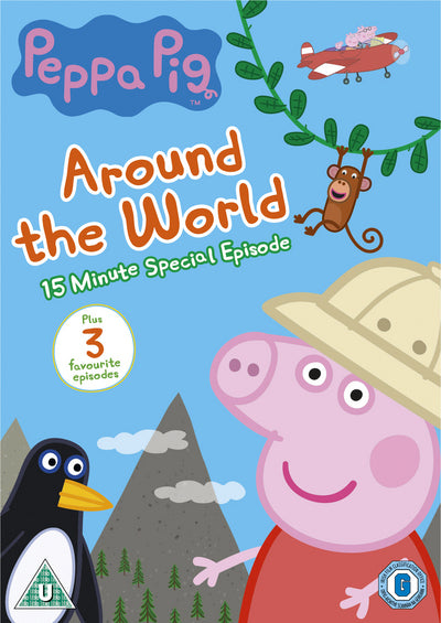 Peppa Pig: Around the World - Neville Astley [DVD]
