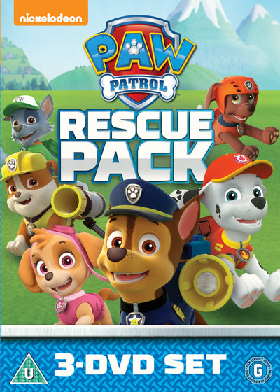 Paw Patrol: Rescue Pack - Keith Chapman [DVD]