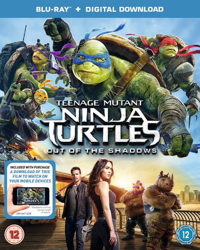 Teenage Mutant Ninja Turtles: Out of the Shadows - Dave Green [BLU-RAY]