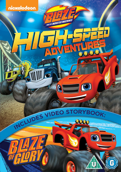 Blaze and the Monster Machines: High Speed Adventures - Ellen Martin [DVD]