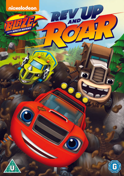 Blaze and the Monster Machines: Rev Up and Roar - Ellen Martin [DVD]