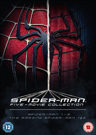 The Spider-Man Complete Five Film Collection - Sam Raimi [DVD]