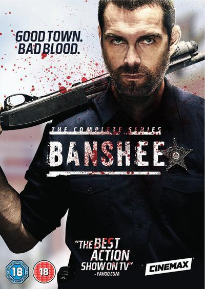 Banshee: Seasons 1-4 - Jonathan Tropper [DVD]