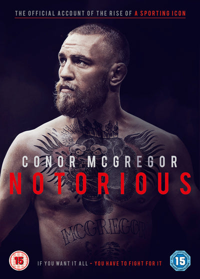 Conor McGregor: Notorious - Gavin Fitzgerald [DVD]