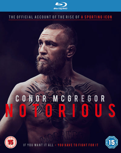 Conor McGregor: Notorious - Gavin Fitzgerald [BLU-RAY]