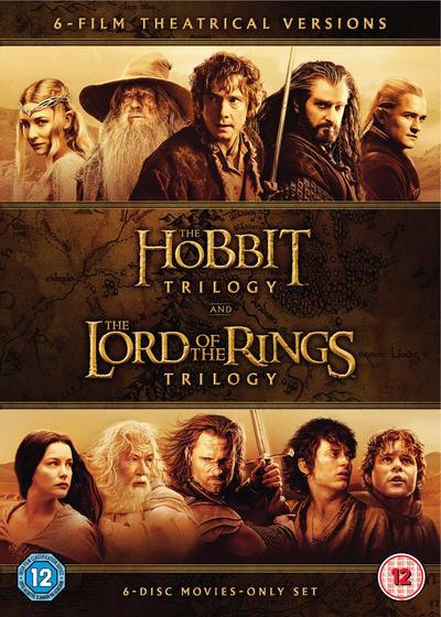 The Hobbit Trilogy/The Lord of the Rings Trilogy - Peter Jackson [DVD]