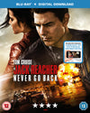 Jack Reacher - Never Go Back - Edward Zwick [BLU-RAY]