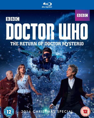 Doctor Who: The Return of Doctor Mysterio - Steven Moffat [BLU-RAY]