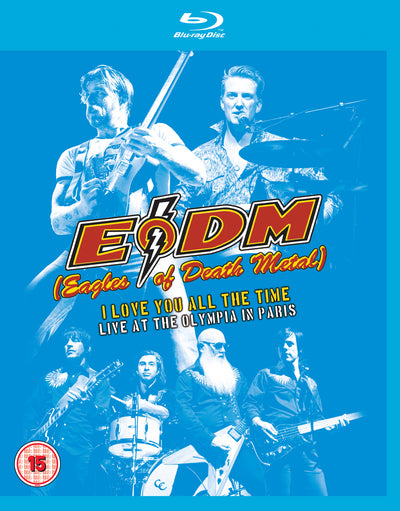 Eagles of Death Metal: I Love You All the Time - Live at the... - Vincent Bordes [BLU-RAY]
