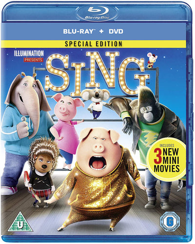 Sing - Garth Jennings [BLU-RAY]